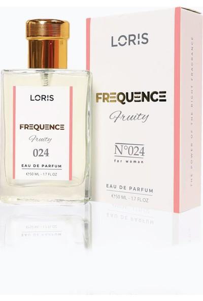 Loris K-24 Frequence Parfume Edp 50ml Tatlı-Meyve Kadın Parfüm