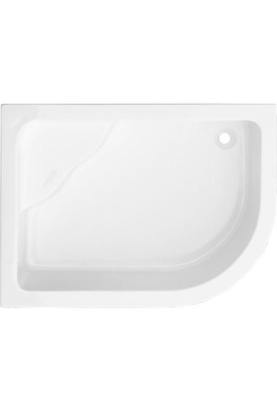 Asimetrik Oturmalı Mini Küvet H45