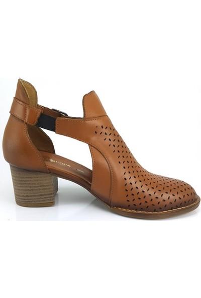 Mammamia 180 Mammamia Günlük Kadın Ayakkabı-Taba