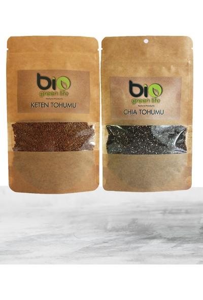 Biogreenlife Chia Tohumu 250 gr Keten Tohumu 250 gr
