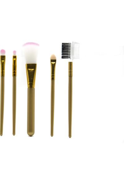 Estella Make Up Tools 5'li Set Sarı