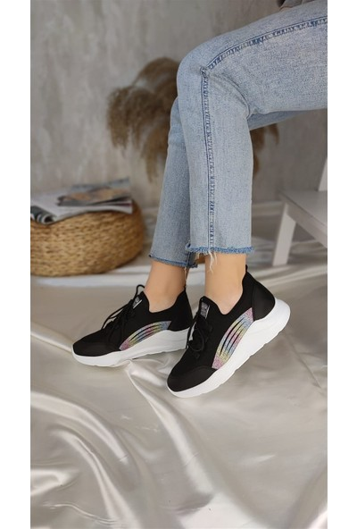 Park Moda Gena Kadın Spor Ayakkabı Siyah