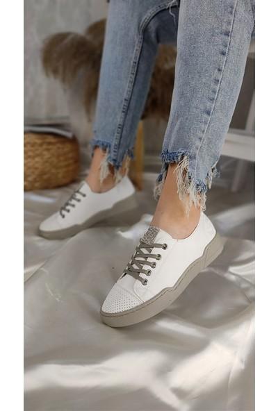 Park Moda Hero Kadın Spor Ayakkabı Beyaz