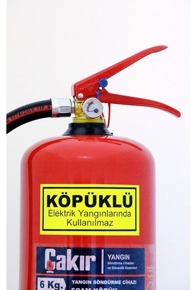 Çakır Köpüklü Yangın Söndürme Cihazı 6 kg