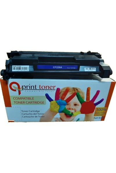 QPrint Hp CF226A Toner/chıpli
