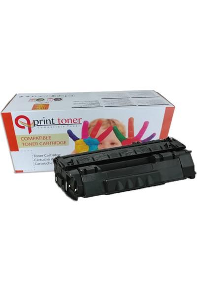 Qprint Brother Tn 155 Mg Kırmızı Muadil Toner 5000 Sayfa Kırmızı