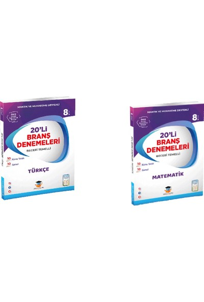 Zeka Küpü Yayınları LGS Türkçe - Matematik Deneme