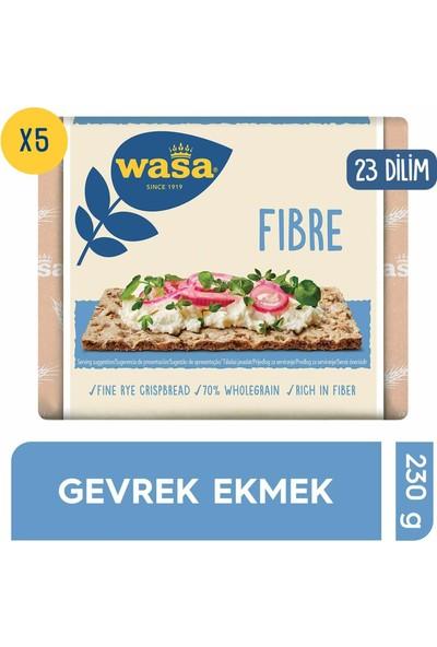 Wasa Lifli Gevrek Ekmek (Crispbread Fibre) 230 gr x 5 'li