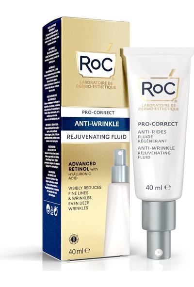 """""""roc Pro-Correct Antı-Wrınkle Rejuvenatıng Fluıd 40ML Roc Gençleştirme Etkili Kırışıklık Karşıtı Bakım Kremi 40 Ml"""""""