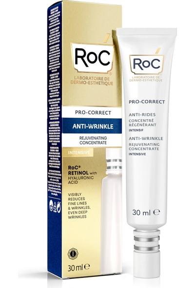 """""""roc Pro-Correct Antı-Wrınkle Rejuvenatıng Concentrate Intensıve 30ML Roc Gençleştirme Etkili Kırışıklık Karşıtı Yoğun Bakım Kremi 30 Ml"""""""