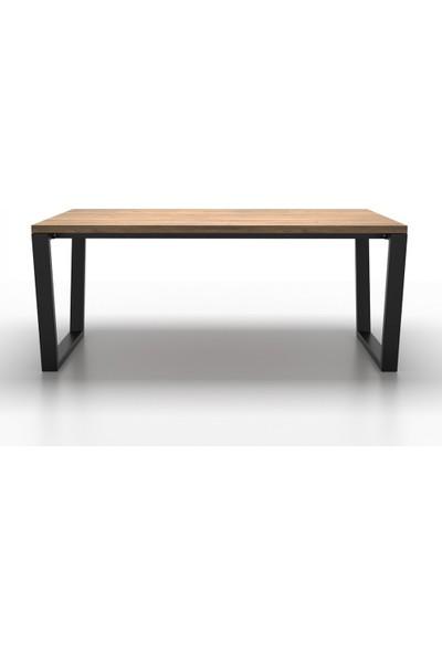 Metal Masa Ayağı Yan Destekli Masa Ayağı Yemek Masası Mutfak Masası Ayak Modelleri Tasarım Masa Ayakları 73X70X100 cm