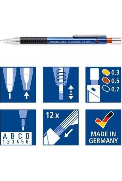 Staedtler Mars Micro Mekanik Kurşun Kalem 3`lü Set