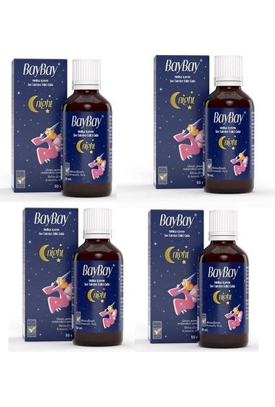 Çocuklar ve Yetişkinler Için Baybay Damla 50 ml X4 Adet