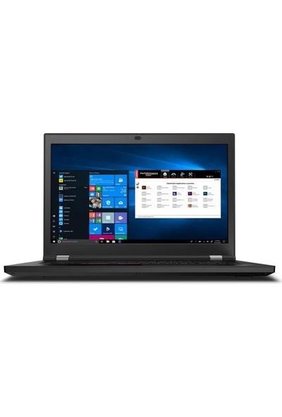 """Lenovo Thinkpad P17 Intel Core i9 10885H 64GB 2TB SSD RTX 4000 Windows 10 Pro 17.3"""" UHD Taşınabilir Bilgisayar 20SN001MTXZ9"""