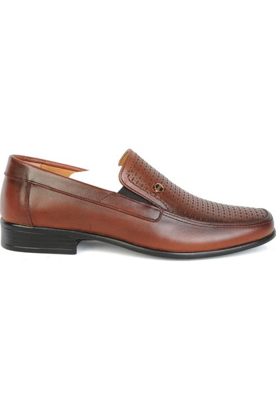 Balayk 1166 Taba Deri Günlük Erkek Klasik Ayakkabı