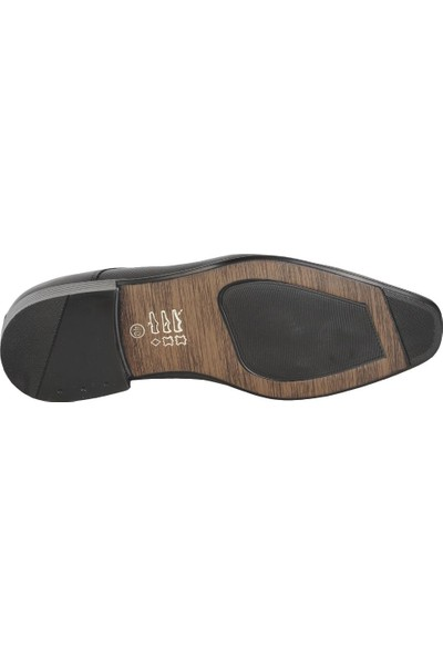 Balayk 1905 Siyah B Neolit Deri Erkek Klasik Ayakkabı