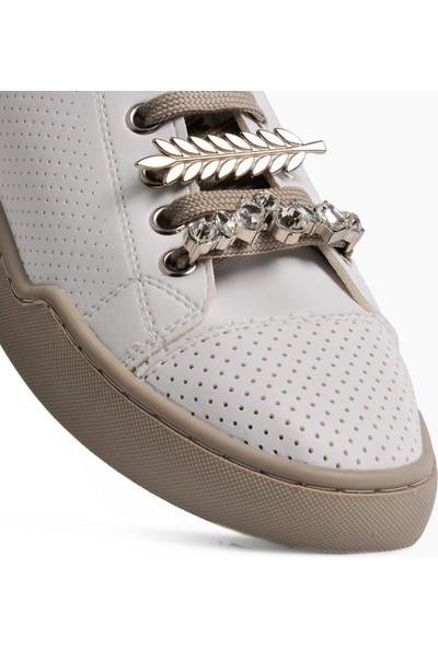 Park Moda K230 Beyaz Kadın Günlük Ayakkabı