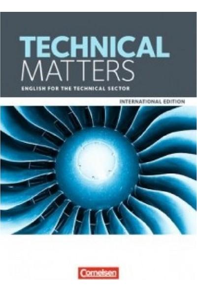 Cornelsen Yayınları Technical Matters