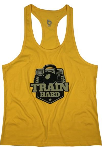 Bluu Fitness Gym Tank Top Sporcu Atleti 4107