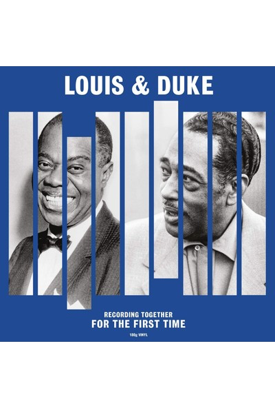 Louis Armstrong And Duke Ellington / Together For The First Time (Plak)
