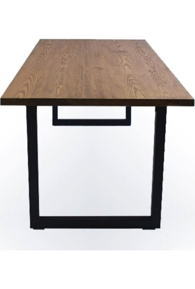 Weblonya Ahşap Masa Ağaç Masa Mutfak Masası 190 cm x 80 cm 5128