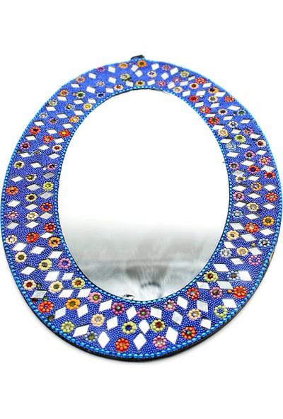 Gül Hediyelik Duvar Aynası