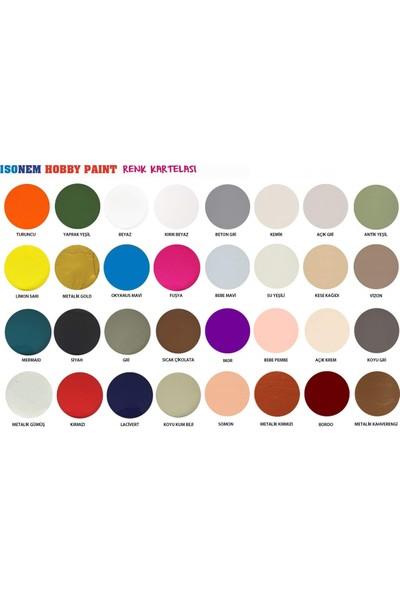 Isonem Hobby Paint Hobi Boyası 350 ml Kırık Beyaz
