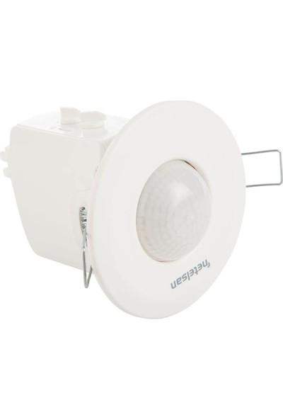 Netelsan Spot Sıva Altı Jumbo Sensör /krom