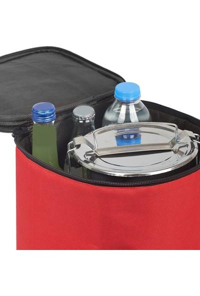 Ankaflex Termos Çanta Isı Yalıtımlı Termal Yemek Taşıma Çantası Kamp Outdoor Piknik 8 Litre