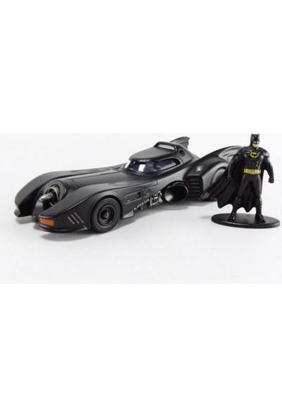 Jada Toys Dc Comics 1:32 Ölçekli 1989 Batmobile ve Batman Figürü (Yurt Dışından)