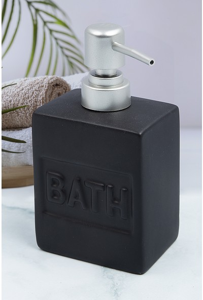 Vip Gross Stoneware Sıvı Sabunluk Beyaz 2651