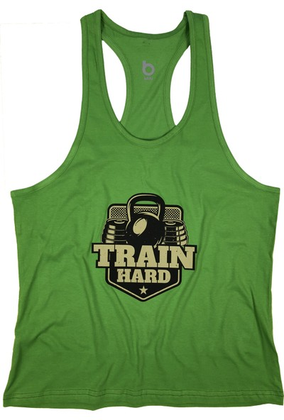 Bluu Fitness Gym Tank Top Sporcu Atleti 4101