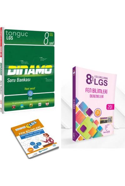 Tonguç 8. Sınıf Dinamo Fen Bilimleri Soru Bankası ve Karekök LGS 20'li Fen Deneme + Yerim Seni LGS