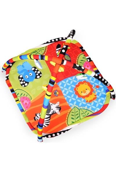 Aybaby Mutlu Serüven Oyun Halısı 80 x 50 cm