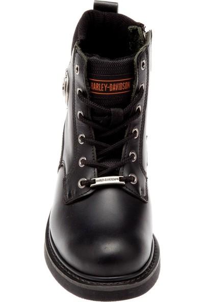 Harley Davidson Harley-Davidson Jım Erkek Siyah Yağlı Deri Bot