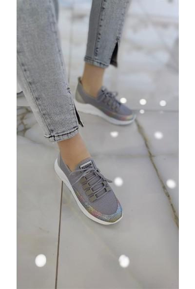 Favla Kadın Spor Ayakkabı Gri