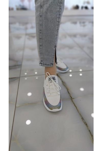 Favla Kadın Spor Ayakkabı Beyaz