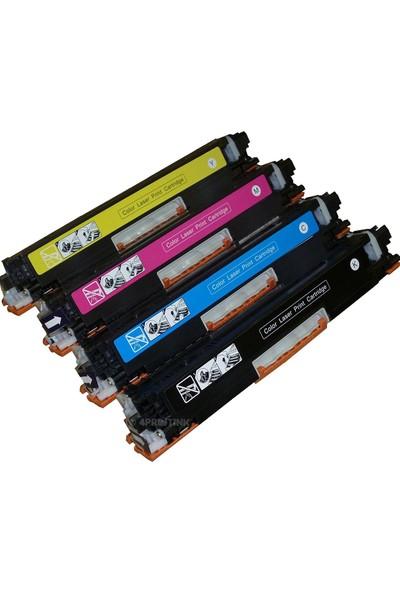 CE310A - CE311A - CE312A - CE313A Uyumlu Muadil Toner Avantaj Paket