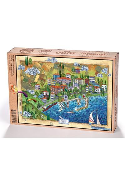 King Of Puzzle Türkiye Minyatürleri - Tekirdağ - Nasuhi Hasan Çolpan Ahşap Puzzle 1000 Parça
