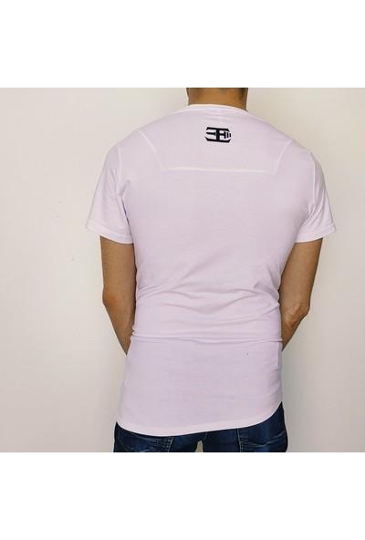 Fit and Size Erkek Düz Renk Yuvarlak Yaka Kısa Kollu Bambu T-Shirt