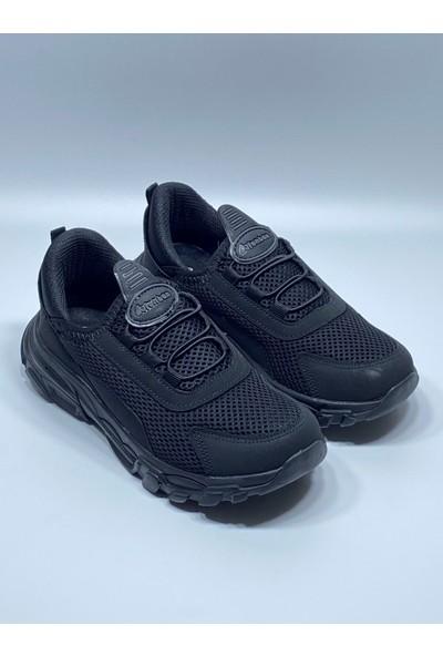 Lafonten Çocuk Sarı-Siyah Ultra Hafif Bağsız Aqua Spor Ayakkabı