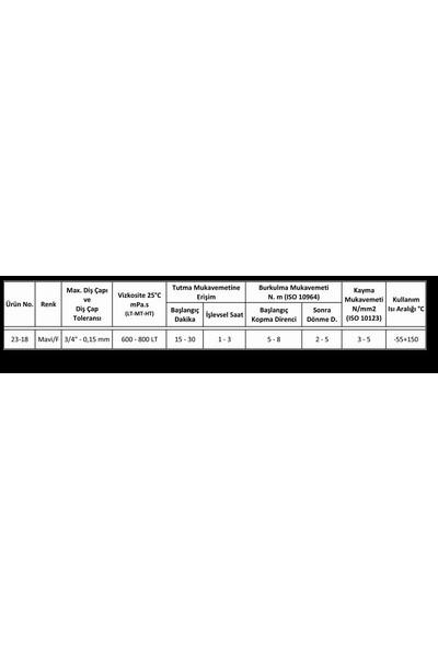 Loxeal 23-18 Sızdırmazlık Düşük Mukavemet 50ML
