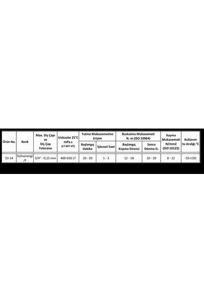 Loxeal 53-14 Sızdırmazlık Orta Mukavemet 50ML