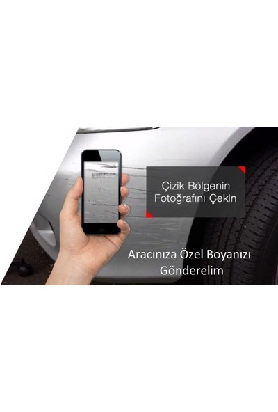 Best Audi KOD:LZ3F Garnet Red Metallic Best Boya Seti