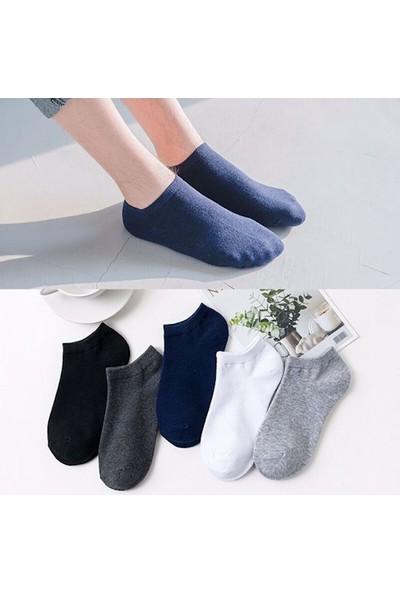 Src 6 Adet Farklı Renklerde Erkek Sneakers Görünmez Kisa Patik Çorap