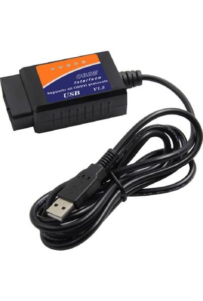 Obd ELM327 USB 1.5 Renault PIC18F25K80 Destekli DDT4ALL Uyumlu