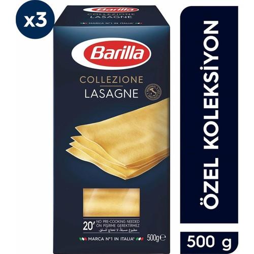 Barilla Lazanya (Lasagne) Makarna 500 gr x 2 Adet