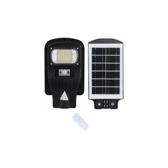 Aral 30W Güneş Enerjili Kumandalı Entegre LED Sokak Lambası