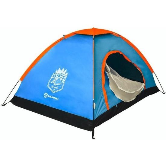 Trend Maison Kolay Kurulumlu 3 Kişilik Kamp Çadırı 200*150*110CM