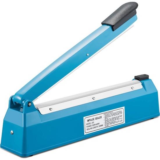 Bastore PFS-200 Poşet Ağzı Kapama Yapıştırma Makinası Plastik Gövde 40 cm